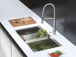 Kitchen Sink Set by Ruvati Rvc2384 Stainless Steel Kitchen Sink And Stainless Steel