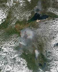 Canada Forest Fire Map by Wildfires In Alberta Canada Natural Hazards