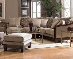 Chenille Sectional Sofa With Chaise Circle Contemporary Wooden Rug Chenille Sectional Sofa With