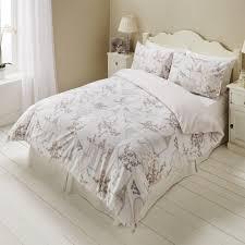 romantic paris love hearts script butterfly floral duvet set quilt