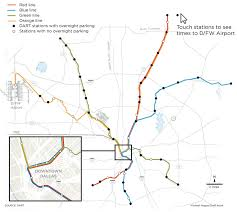 Dallas Terminal Map by What You Need To Know Now That Dart Finally Reaches D Fw Airport