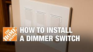 how to install a dimmer switch single pole three way light switch
