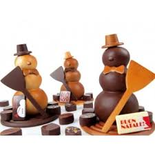 pavoni kt22 thermoformed chocolate molds snowman 3d kit for 2 s