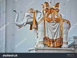elephant statue trump taj mahal casino stock photo 68405749