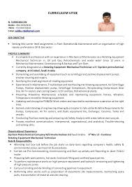 Pc Technician Resume Engineering Technician Resume Sample Instrument Technician