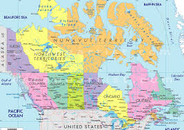 United States Geography Map by Canada Map Geography Map Of Canada City Geography