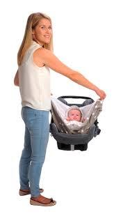 couverture siège auto bébé couverture bébé d emmaillotage avec poignées gris étoiles blanches