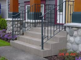 outdoor iron stair railings design iron stair railing beautiful