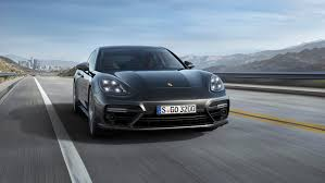 porsche panamera turbo 2017 back the new 2017 porsche panamera turbo has the best rear spoiler ever