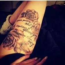 189 sexiest thigh tattoos for women 2017 collection thighs