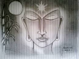 the light of buddha pencil sketch by smkotian on deviantart