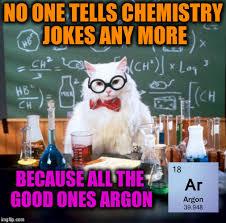 Funny Chemistry Memes - chemistry cat meme imgflip