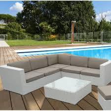 divanetti rattan divani salotto in rattan sintetico bianco kartik white