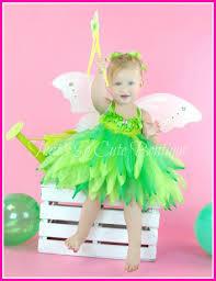Green Tutu Halloween Costume Tinkerbell Inspired Party Tutu Dress Tinkerbell Tutu Fairy