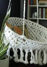 pattern for fabric hammock chair diy hanging macramé chair