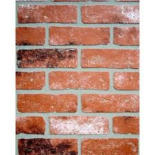 home depot wall panels interior null 1 4 in x 48 in x 96 in kingston brick hardboard wall panel