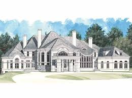 Chateauesque House Plans Chateau House Plan With 7885 Square Feet And 4 Bedrooms From Dream