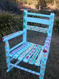 Rocking Chairs On Sale 45 Best Painted Rocking Chairs Images On Pinterest Painted