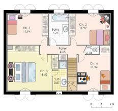 plan de maison a etage 5 chambres plan de maison a etage plan maison 200m2 avec etage maison 200m2