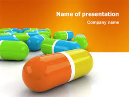 colored pills powerpoint template backgrounds 03191