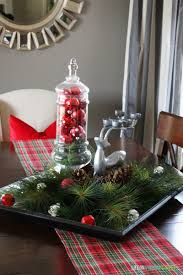 Unique Dining Room Table Christmas Decoration Ideas For House - Dining room table christmas centerpiece ideas
