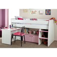 lit combiné bureau fille lit combine bureau lit combinac 2 couchages bureau blanc gris