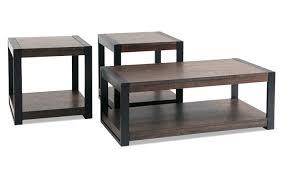 livingroom table sets carson coffee table set bob s discount furniture