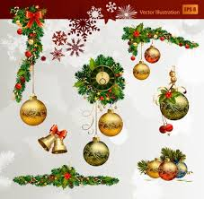 christmas decorations vector free vector download 22 308 free