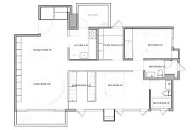 home design 13 spacious white minimalist open foor plan dining full size of home design 14 modern and minimalist home floor plan architect blueprint 13