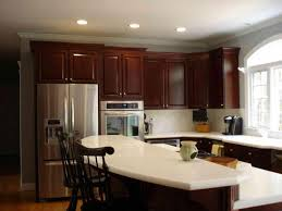 kitchen paint colors with cherry wood cabinets u2014 the clayton