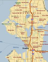 seattle map greenwood our one day in seattle
