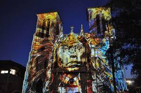 san fernando cathedral light show san antonio the saga in san antonio at san fernando cathedral