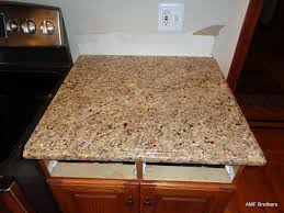 Kitchen Island Out Of Dresser - granite countertop kitchen cabinet installation tips ideas for