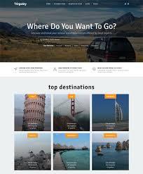 bootstrap sites templates 70 best travel website templates free u0026 premium freshdesignweb
