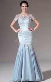 shop sky blue long prom dresses scoop neck mermaid long sky blue