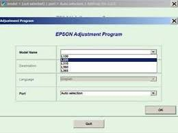 epson l360 ink pad resetter epson resetter adjustment program software waste inkpad error l 130