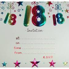Invitation Birthday Party Card 18th Birthday Party Invitations Themesflip Com
