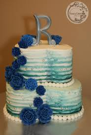 wedding cake royal blue snazzycakes wedding cake portfolio snazzycakes