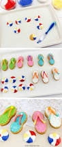 how to make nutter butter flip flop cookies oh my creative