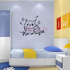 stickers birds mother baby owl vinyl wallpaper for kids baby u0027s