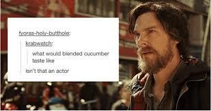 Benedict Cumberbatch Meme - 17 times tumblr had too much fun with benedict cumberbatch s name