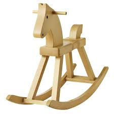 Wooden Rocking Chair Dimensions Kay Bojesen Wooden Rocking Horse By Rosendahl Stardust