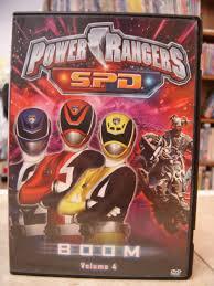 power rangers boom volume 4 dvd enkore kids