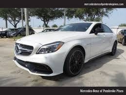 mercedes cls63 amg for sale 2017 mercedes amg cls 63 s 4matic for sale pembroke pines fl