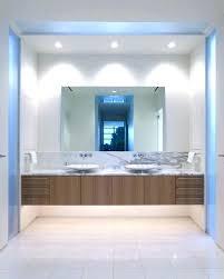 Large Rectangular Bathroom Mirrors Frameless Rectangular Bathroom Mirror Easywash Club