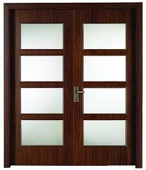 glass wood doors fashion glass wooden interior bedroom door buy glass wooden