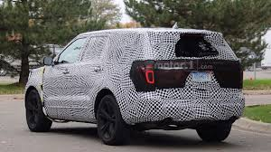 2019 ford ranger spy shots and video 2019 ford explorer spied redesign latest news specs price