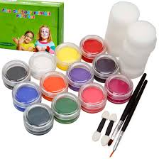 bmc kids party activity fun face body skin non toxic paint and