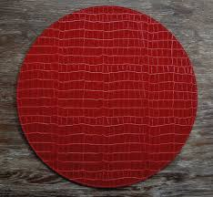 Placemats For Round Table Tips Chic Round Placemats For Casual Dining Tables U2014 Nadabike Com