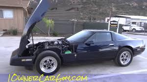 1989 Corvette Interior C4 Corvette For Sale Gotti Wheels Interior U0026 V8 Engine Review